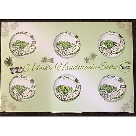 Xà phòng handmade Adeva Naturals - Xà bông Trái nhàu Noni (3 bánh - 100 gr 1 bánh) 8