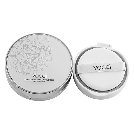 Phấn Nước CC Cushion Siêu Mịn Dưỡng Da VACCI (13g) 2