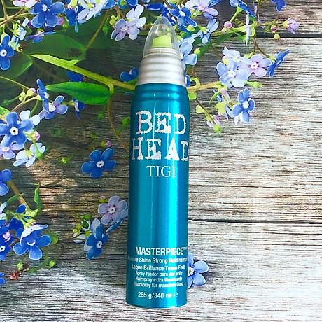 Keo xịt bóng tóc TIGI Bed Head Masterpiece shine hairspray giữ nếp cứng vừa Mỹ (300ml) 2