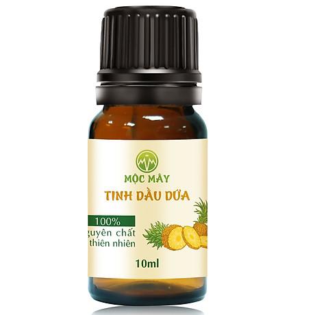 Tinh dầu Dứa (thơm, khớm) 10ml Mộc Mây - tinh dầu thiên nhiên nguyên chất 100% - chất lượng và mùi hương vượt trội - Có kiểm định - Mùi nhiệt đới, mát, ngọt ngào, sản khoái...mùi của tuổi trẻ và sự thư giản 1