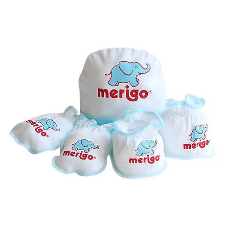 Bộ Chăm Sóc Trẻ Sơ Sinh Merigo Bông Bạch Tuyết TP-BABY02 - Trắng Viền Xanh 3