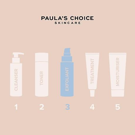 Dung dịch tẩy da chết và se khít lỗ chân lông Paula s Choice Resist Daily Pore Refining Treatment 2% BHA 88ml Mã 7820 4
