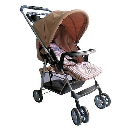 Xe Đẩy Trẻ Em Hai Chiều Gluck Baby C8M - Kem 1