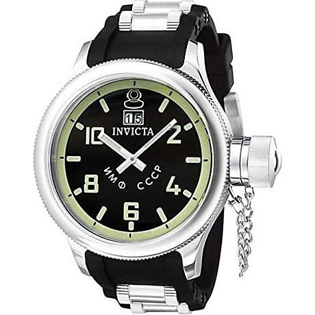 Invicta Men s 4342 Russian Diver Collection Black Sport Watch 1