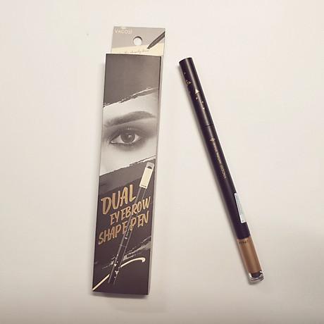 Chì Kẻ Mày Định Hình Đa Năng Vacosi Dual Eyebrow Shape Pen 2