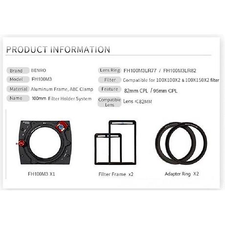 Filter Kính lọc vuông Benro Hệ 100, Hàng chính hãng 2