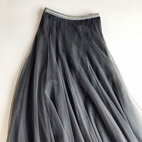 Chân váy lưới tutu xòe nhiều tầng VAY49 free size 3