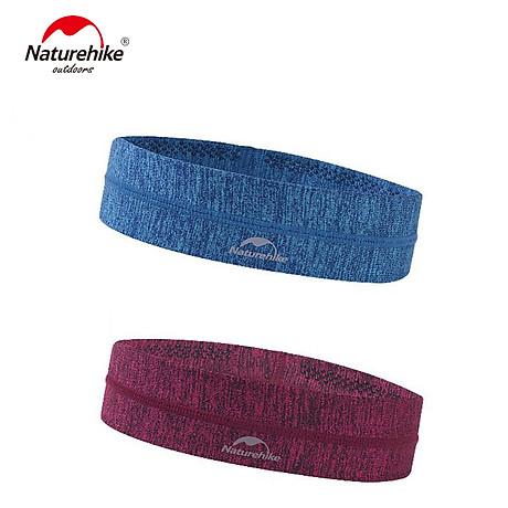Băng đô Băng trán thể thao Headband NatureHike hàng chính hãng cho nam và nữ thấm hút mồ hôi nhanh 5