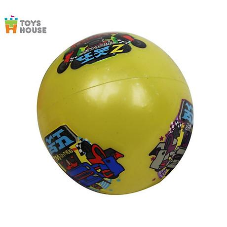 Bóng nảy cao su bơm hơi xuất Nhật 0619-TH-001-DZ6G Toyshouse - Màu ngẫu nhiên 4