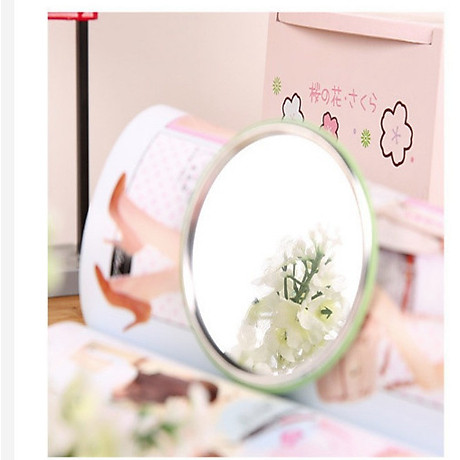 Combo 5 Gương mini bỏ túi siêu cute , nhỏ gọn xinh xắn thích hợp cho các bạn nữ có thể mang theo khắp mọi nơi GD222-GuongMN giao ngẫu nhiên 8