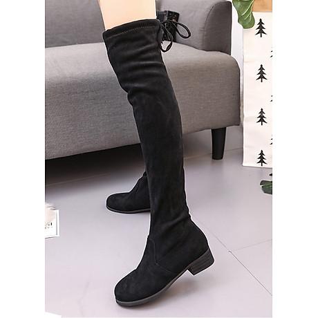 Boot nữ cổ cao đế trệt GCC28 4