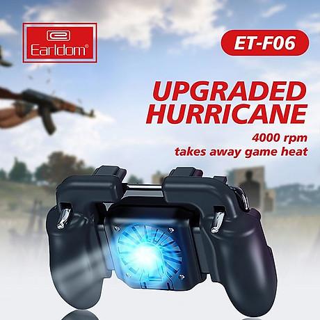 Tay cầm chơi game, kèm nút bấm cao cấp, dành cho điện thoại dưới 6.5 inch, chơi Liên quân Mobile, CrossFire, PUBG, FF - Hàng Chính Hãng 3