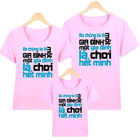 Áo thun nữ - áo gia đình in hình - GĐM14- Giá Trên là giá cho 1 chiếc áo 2