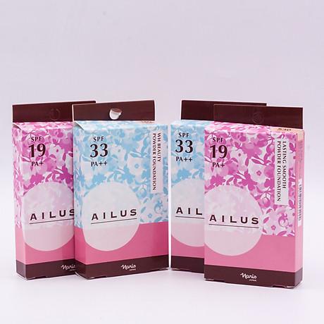 Phấn nền sáng da Naris Ailus WH Beauty Powder Foundation 8