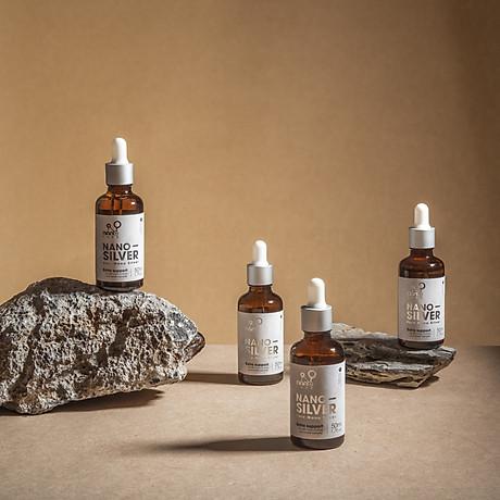 COMBO 2 Chai Ngừa mụn Nano Silver tinh khiết làm sạch sâu bên trong, giúp kháng khuẩn, giảm viêm, liền sẹo ( Chai 15ML) 4
