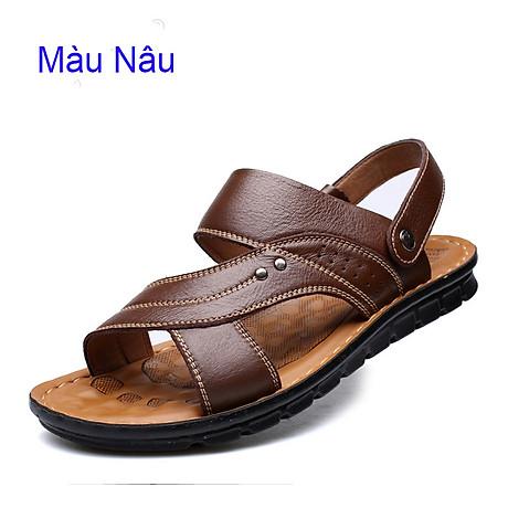 Giày Sandal phong cách thời trang Nhật Bản đế mềm chất liệu da bò thật phù hợp với các mùa trong năm mã 12129 7
