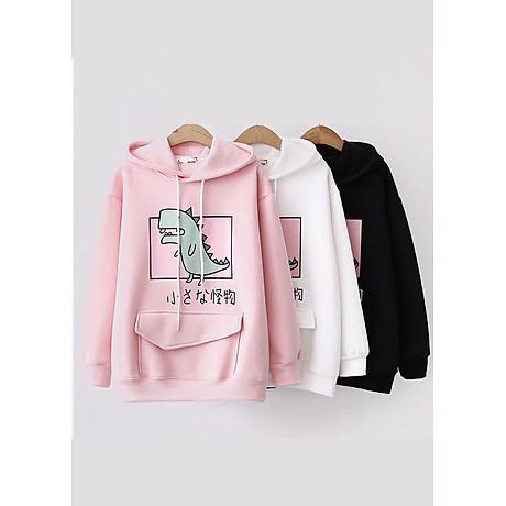 Áo hoodie nữ Khủng Long siêu dễ thương - PP06A 3