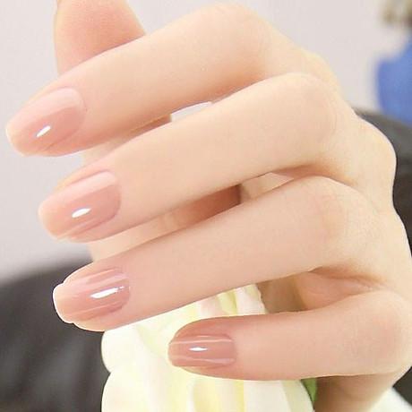 Sơn móng tay Aroma Nail Polish Hàn Quốc 12ml 21 sơn dưỡng tặng kèm móc khóa 5