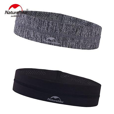 Băng đô Băng trán thể thao Headband NatureHike hàng chính hãng cho nam và nữ thấm hút mồ hôi nhanh 3