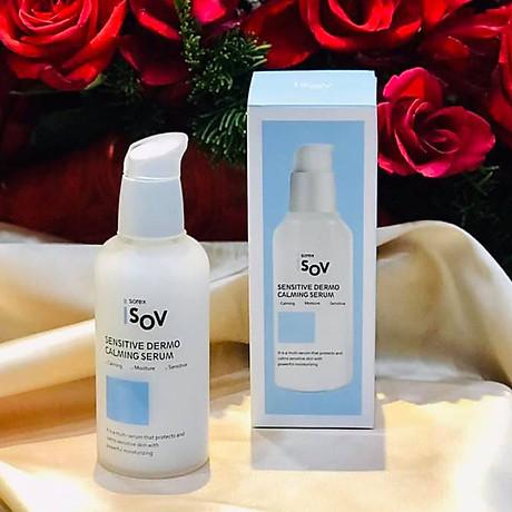 Serum phục hồi cho da nhạy cảm Isov Sensitive Dermo Calming Serum 80ml 1
