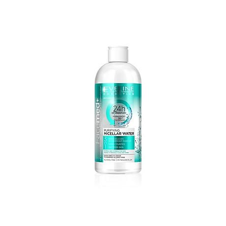 Nước tẩy trang mềm mịn da FACEMED da thường và hỗn hợp 400ml 1