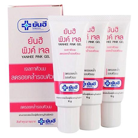Gel Thoa Hồng Nhũ Hoa Yanhee Pink Gel (10g) 2