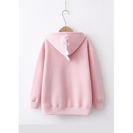 Áo hoodie nữ Khủng Long siêu dễ thương - PP06A 5