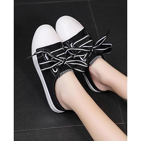 Giày Sục Sneaker Thể Thao Nữ Vải Mềm Stye Hàn Quốc Cực Xinh 3Fashion - 3181 4