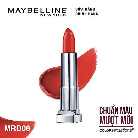 Son Lì Siêu Nhẹ Môi Maybelline New York Color Sensational Powder Matte 3.9g 2