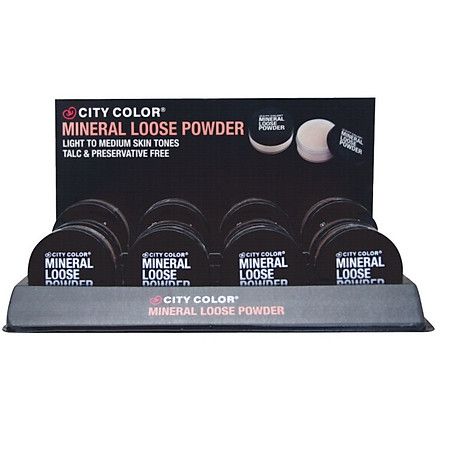 Phấn phủ City Color mineral loose powder 1