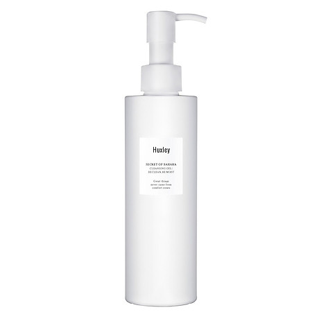Gel rửa mặt dịu nhẹ dành cho da nhạy cảm Huxley Cleansing Gel Be Clean Be Moist 200ml 1