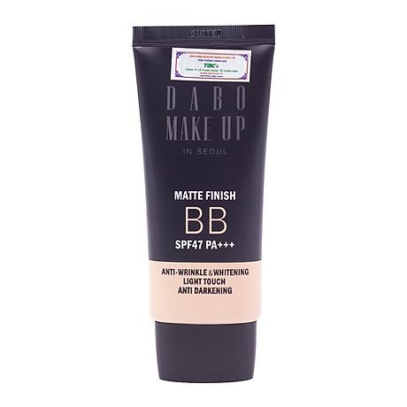 Phấn phủ kiềm dầu cao cấp Hàn Quốc Dabo Make-Up SPF 36 PA+++ (11g) Hàng Chính Hãng - 21 Vanila Begie 7