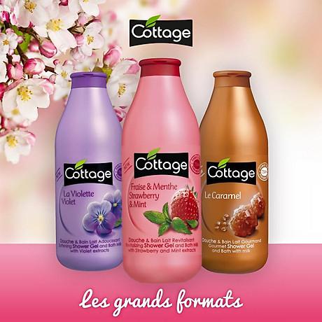 Sữa tắm COTTAGE Le Caramel (Hương Caramel) 750ml 5