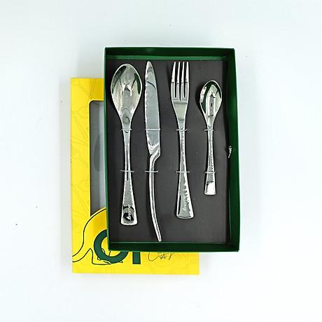 [Gift] Bộ dao muỗng nĩa INOX cao cấp 4 món DCS-02 3