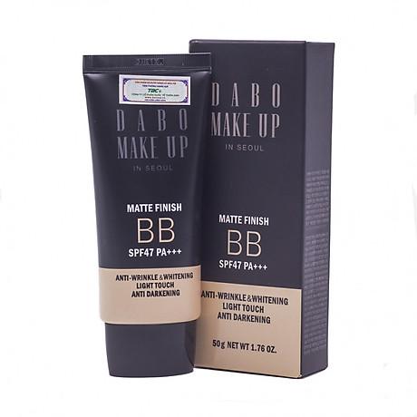 Phấn phủ kiềm dầu cao cấp Hàn Quốc Dabo Make-Up SPF 36 PA+++ (11g) Hàng Chính Hãng - 21 Vanila Begie 1