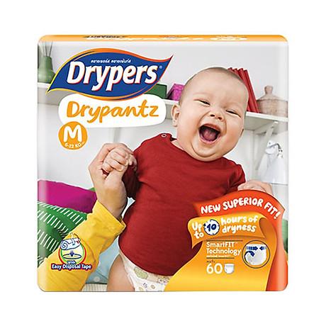 Tã Quần Drypers Drypantz Cực Đại M60 (60 Miếng) 1