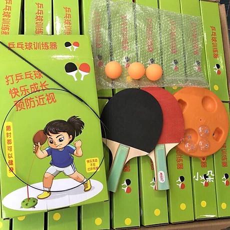 Bộ vợt bóng bàn tập phản xạ lắc lư cho bé - Tặng 1 lọ tinh dầu Quế 2