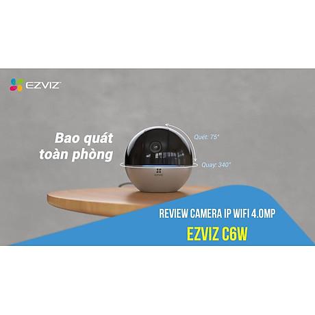 Camera IP - Camera Wifi EZVIZ C6W 4Mp ( Độ phân giải 2K ) - Đàm Thoại 2 Chiều - Theo Chuyển Động Thông Minh - Hàng chính hãng 3