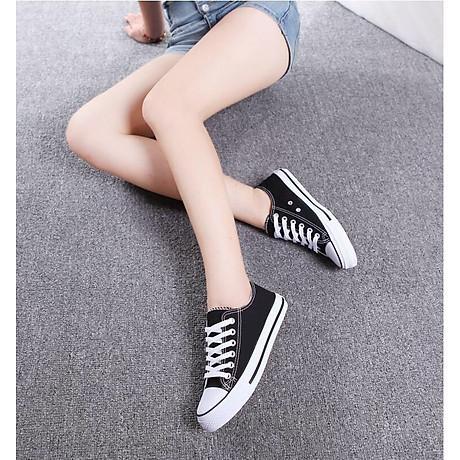 Giày Sneaker Vải Thể Thao Unisex CV9 Năng Động, Sành Điệu 7