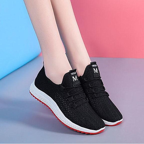 Giày vải nữ thoáng khí kiểu dáng thời trang cho nữ - SB97 1