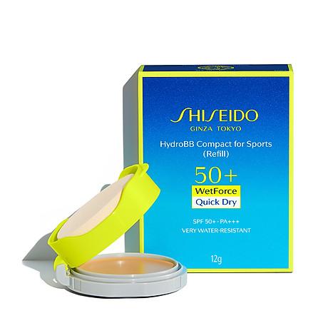 Lõi kem nền chống nắng dạng nén Shiseido Hydro BB Compact for Sport 12g - Medium 4