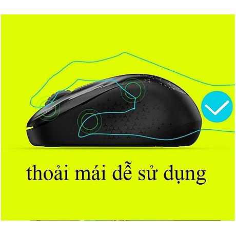 CHUỘT KHÔNG DÂY VĂN PHÒNG V10 - Hàng Cao Cấp (Tặng kèm lót chuột) 2