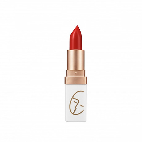 Son Lì Lâu Trôi (màu Đỏ Gạch) No 3_Javin De Seoul Flower For Me Velvet Lipstick 3 (Brick Red) 1