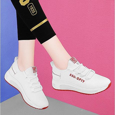 Giầy thể thao nữ, giày sneaker nữ buộc dây V202 1