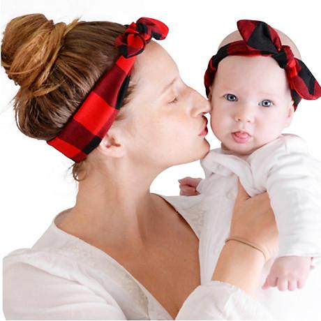 Combo băng đô mẹ và bé cao cấp BĐMB1 2