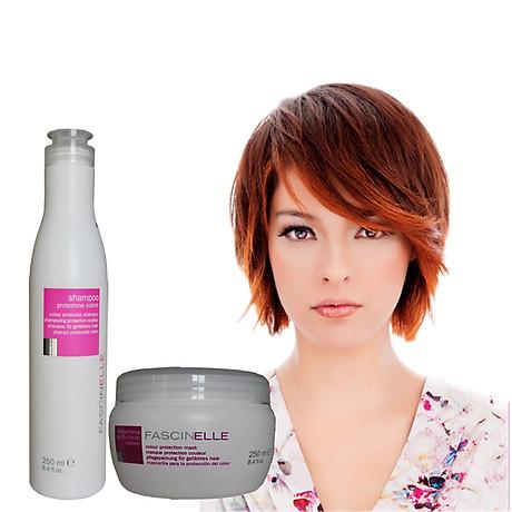 Bộ dầu gội dưỡng màu và kem ủ xả dưỡng màu cho mái tóc nhuộm Fascinelle ( Ý) - DMC013 3