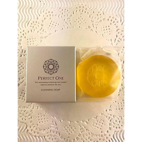 Xà Phòng Rửa Mặt Nhật Bản - Perfect One Cleansing Soap Tẩy Tế Bào Chết, Hỗ Trợ Trị Thâm, Nám Và Cung Cấp Độ Ẩm Cần Thiết Với Việc Bổ Sung Collagen 4