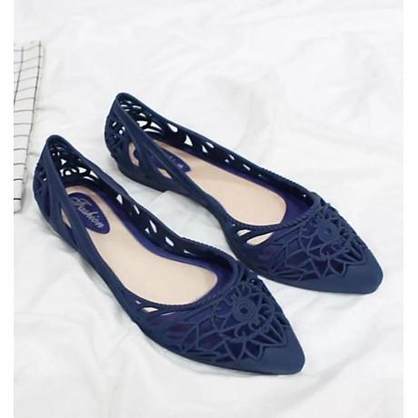 Giày búp bê nữ nhựa đi mưa siêu xinh 221 1