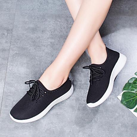 Giày độn thể thao nữ buộc dây full size full box size chuẩn kèm ảnh thật size 35 đến 39 V127 2