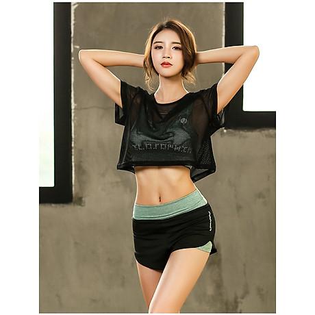 Set Bộ 3 đồ quần áo thun thể thao nữ áo ngoài zen năng động ( Đồ Tập Gym, Yoga, Aerobic ) mã 8808 2